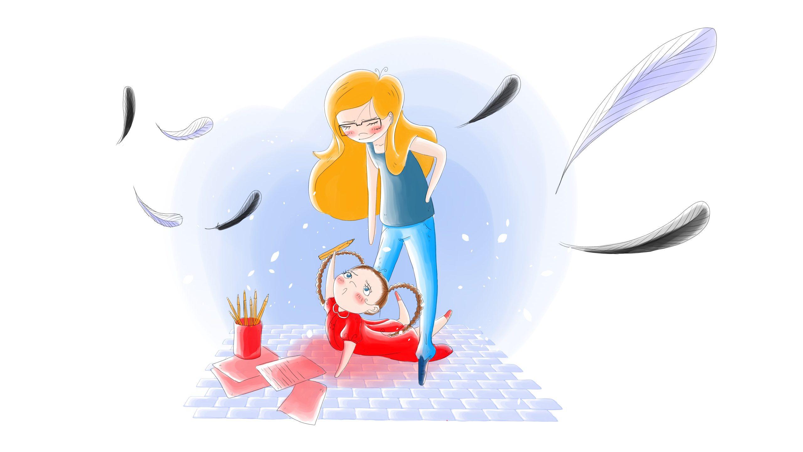 Ilustración El Sueño de Gabriela