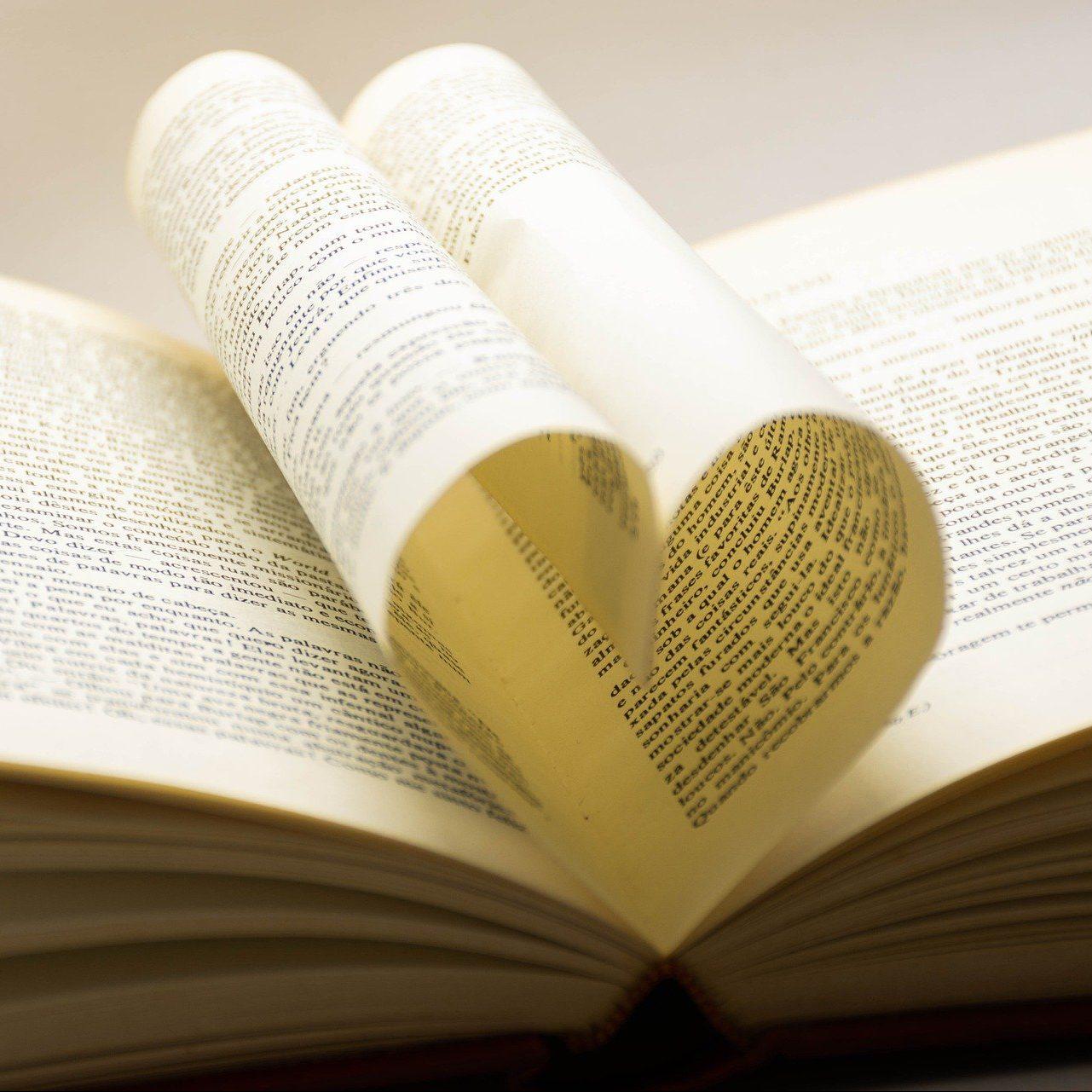 Libro Corazón Lucas Wendt Pixabay
